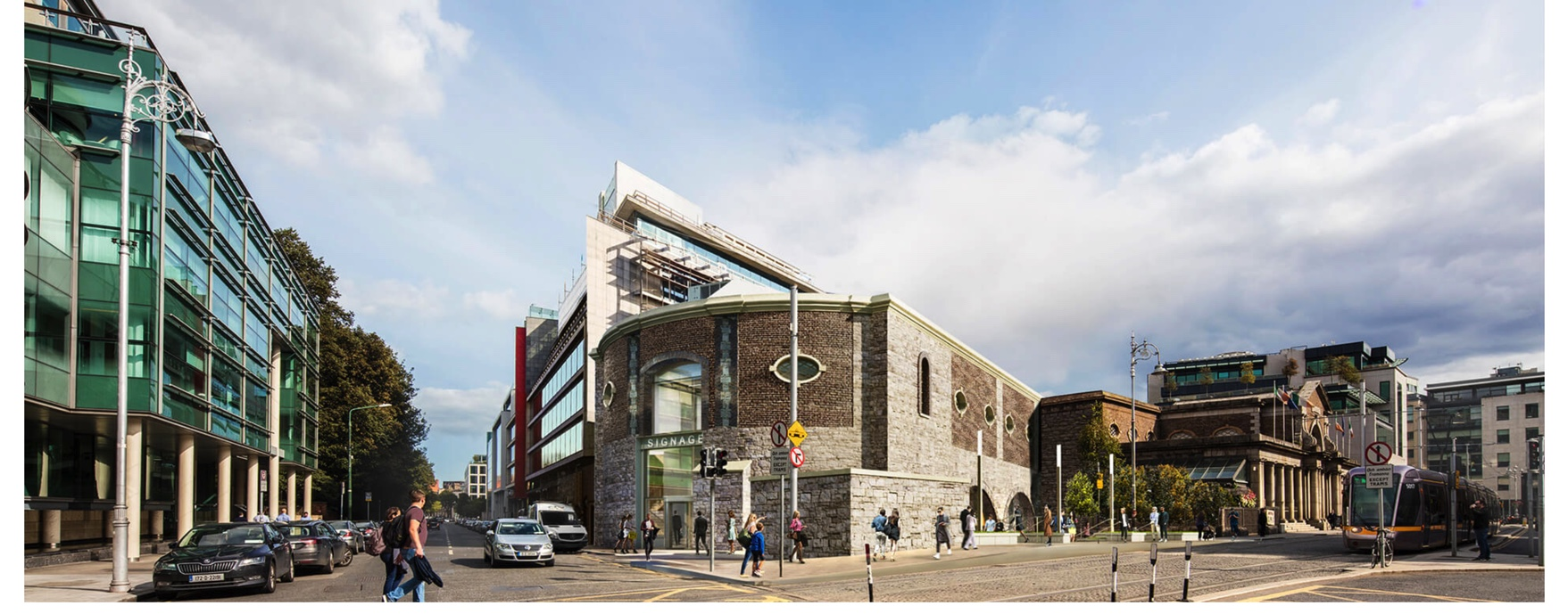 Station Building 2 l John Sisk & Son – ICE Awards 2020: Fit Out or Refurbishment Over €5m Finalist